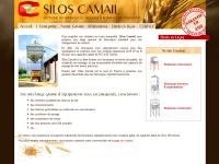 Silos CAMAIL fabricant de boisseaux de chargement pour expédition céréales. Vente boisseaux galvanisés - trémie de chargement