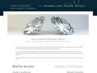 création site internet - Negev Diamonds Investment Company