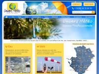 Création site internet professionnel - Univers Météo - Gamme Professionnelle